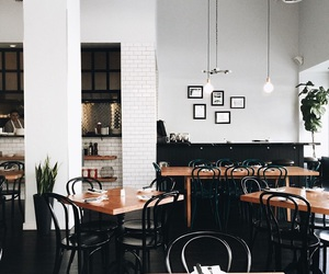 interior, design, and cafe image