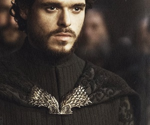 game of thrones, stark, and robb stark image