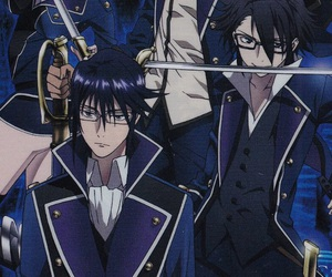 k project, scepter 4, and munakata reisi image