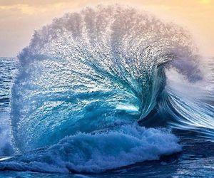 blue, splash, and ocean image