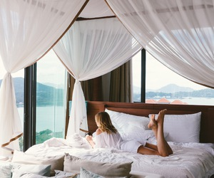 bed, holiday, and thailand image