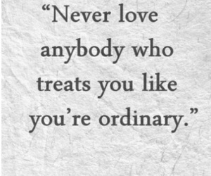 quote, love, and ordinary image