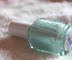 essie, nail polish, and blue image