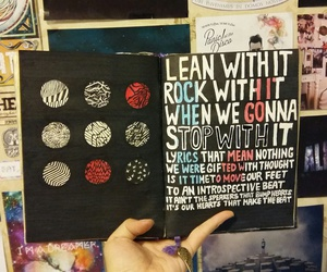 diary, inspiration, and twenty one pilots image