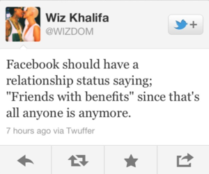 wiz khalifa, facebook, and quote image