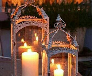 candle and home image