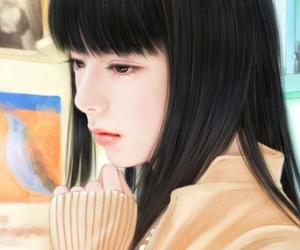 art, illustration, and korean image