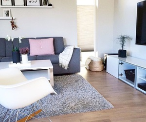 black and white, decoracion, and home image