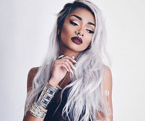 hair, tattoo, and makeup image