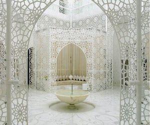 white, morocco, and architecture image