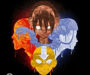 avatar, elements, and toph image