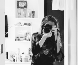 beautiful, canon, and black and white image