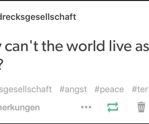peace, tumblr, and krieg image
