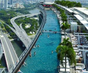pool, singapore, and city image