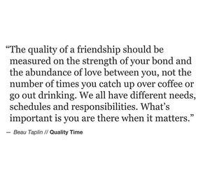 friendship, quality, and quote image