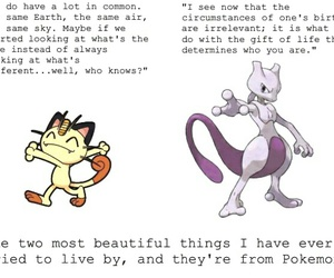 pokemon, quote, and mewtwo image