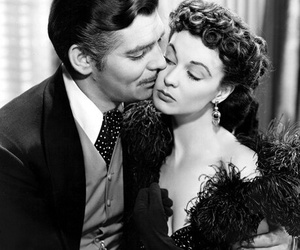 Gone with the Wind, clark gable, and movie image