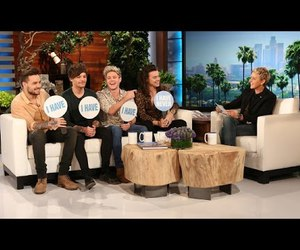 ellen, one direction, and funny image