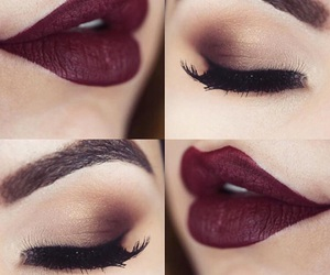 beautiful, black, and lips image