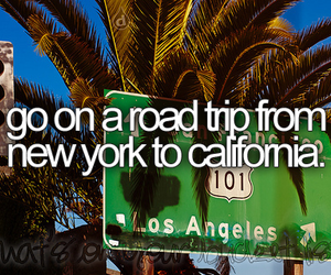 california, new york, and Road Trip image