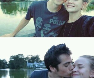 love, couple, and dylan o'brien image