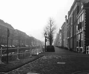 amsterdam, black, and black and white image