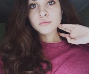 big eyes, big lips, and black and white image