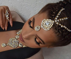 accessories, beautiful, and dress image