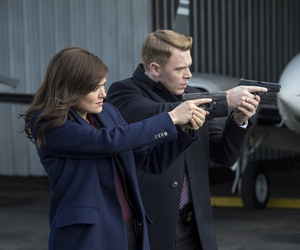 diego klattenhoff, the blacklist, and elizabeth keen image