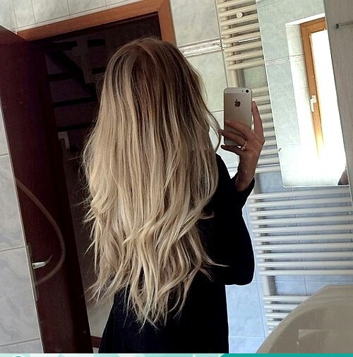 amazing, long hair, and beauty image