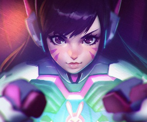 overwatch, anime, and art image
