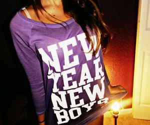 boy and new year image