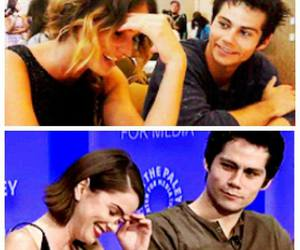 shelley hennig and dylan o'brien image