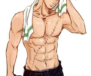 one piece, anime, and zoro image