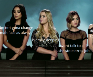 pretty little liars, alison, and funny image