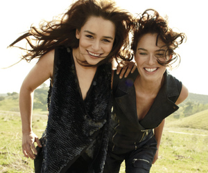 game of thrones, emilia clarke, and lena headey image