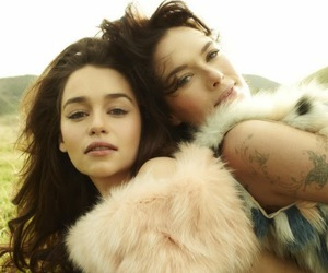 emilia clarke, lena headey, and game of thrones image