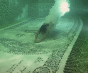 money, pool, and dollar image
