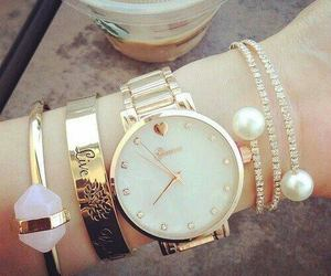 accessories, chic, and bracelets image
