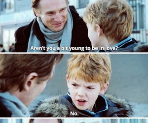 funny, love actually, and thomas sangster image