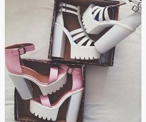 grunge, high heels, and love image