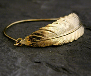 bridal jewelry, etsy, and feather jewelry image