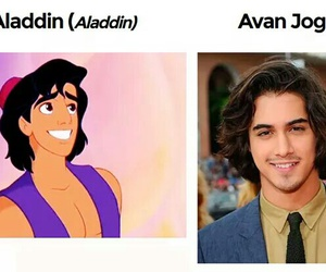 aladdin, disney, and prince image