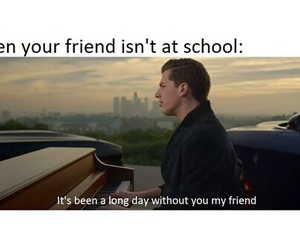 friends, school, and funny image