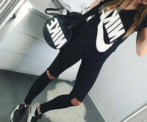 nike, fashion, and black image