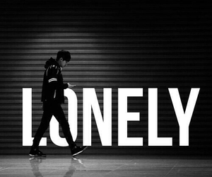exo, chanyeol, and lonely image