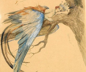 bird, fairy, and russian image