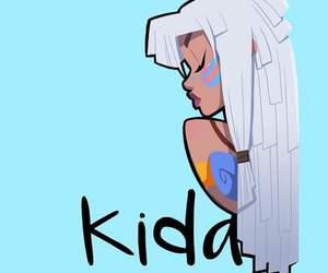 kida, disney, and princess image