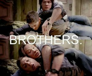 bro, brother, and supernatural image