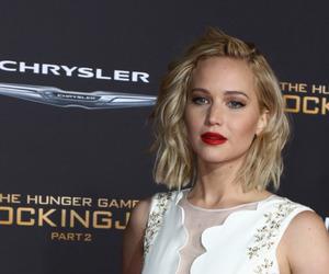 black and white, Jennifer Lawrence, and fashion image
